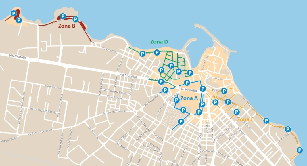 Mappa Giovinazzo