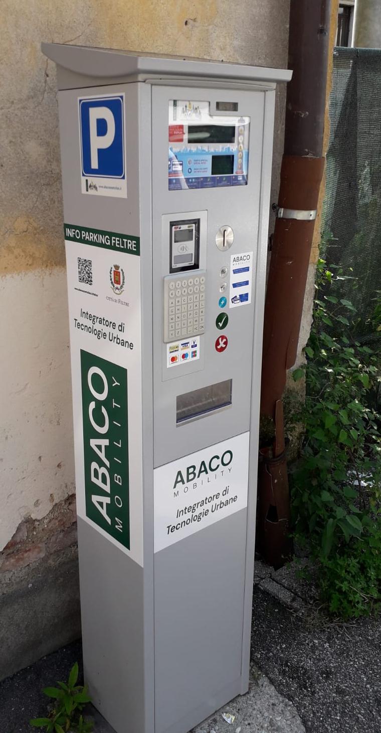 Parcometro Feltre - Abaco Mobility