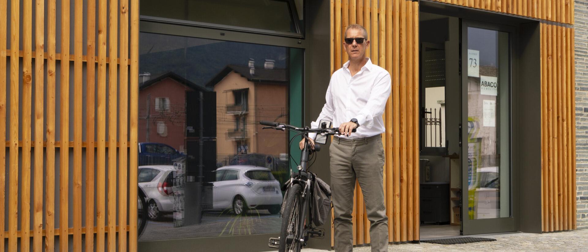 Copertina news Ciclostazione inaugurazione - Abaco Mobility